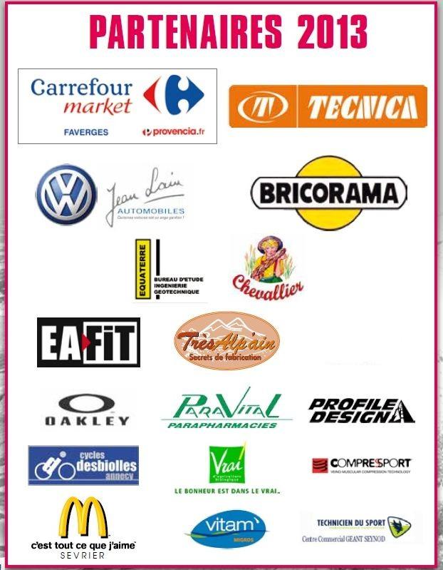 sponsors Half doussard 2013