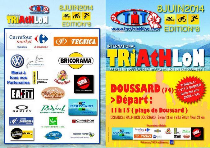 plaquette Tri Doussard 2014