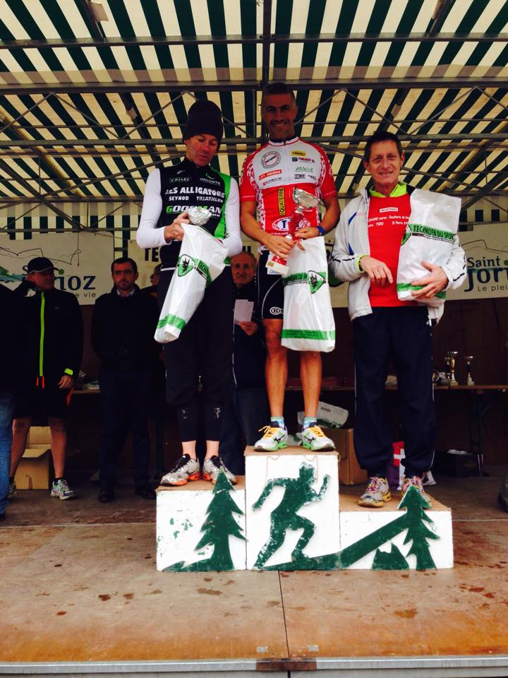 Barek Laudon podium